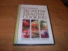 Dr. Fuhrman's Secrets to Healthy Cooking (DVD 2007) World's Healthiest Foods NEW
