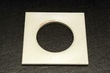"""Lens Board 2.625"""" x 2.625"""" with 1.55"""" Hole"""