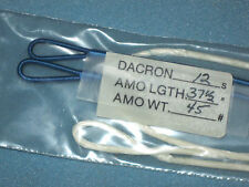 """37-1/2"""" AMO WHITE B-50 DACRON BOW STRING for COMPOUND TARGET/HUNTING 12-STRANDS"""