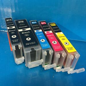 Generic PGI570 CLI571 BK/C/M/Y Canon Pixma MG 5750 5751 5752 5753 Ink Cartridges