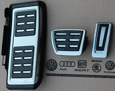 Skoda Octavia III 5E original pedal cover caps RS footrest Oktavia auto cars