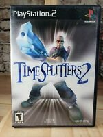 Sony PlayStation 2 TimeSplitters 2 2002 Complete