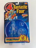 Fantastic Four 4- Marvel- INVISIBLE WOMAN- ToyBiz 1995 Action Figure- NEW