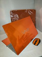 Orange Sony Vaio Gaming Nvidia 640m 640gb 4gb i5 2.50GHz Windows 10 Pro Office