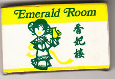 MATCHBOOKS -  The Emerald Room, The Chindig Club, Singapore