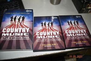 Ken Burns: Country Music  [DVD] Boxed Set 8 Discs Set Region 1