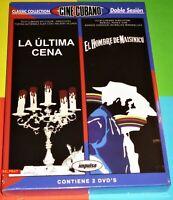 LA ULTIMA CENA + EL HOMBRE DE MAISINICU -DVD R2- Cine cubano - Precintada