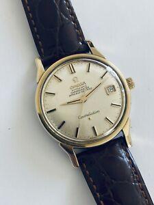 Vintage Gents OMEGA Constellation Chronometer  168.005 Gold Capped Cal. 561