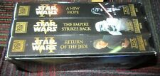 STAR WARS TRILOGY: RETURN OF JEDI / EMPIRE STRIKES BACK / NEW HOPE 3-VHS BOX SET