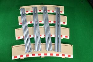 SCALEXTRIC 4 X C8238 Radius 4 outer BORDERS BARRIERS ARMCO