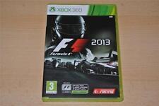 F1 2013 Xbox 360 formule 1 uk pal ** gratuite ru livraison **