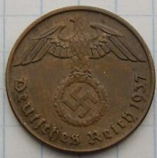 NAZI copper penny ww2 .The real coin,no fakes ss