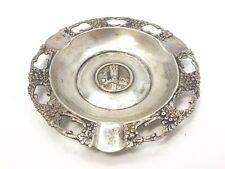 Aschenbecher ash tray 800 SILBER silver argent cendrier cenicero Steinheim Papst