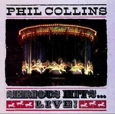 PHIL COLLINS - Serious Hits...Live! (CD 1990) USA First Edition EXC Atlantic/BMG