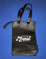 """Wdw, Good Neighbor Hotel - 11 1/2"""" Lined Luncheon Lunch Bag with Bottle Holder"""