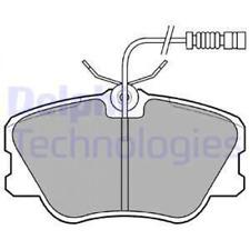 Bremsbelagsatz, Scheibenbremse DELPHI LP608 vorne für MERCEDES-BENZ