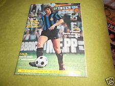 INTER  FOOTBALL  CLUB  NR  12    DICEMBRE   1978  POSTER   BECCALOSSI