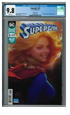 Supergirl #16 (2018) Artgerm Variant Cover CGC 9.8 White Pages GG344
