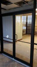 ADA Compliant 6-0 x 7-0 Bronze Pair Glass Storefront Doors-CALIFORNIA PACKAGE