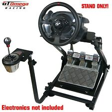 GT omega steering wheel stand PRO pour Thrustmaster T500RS racing & TH8A shifter