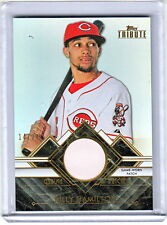 2014 Topps Tribute Billy Hamilton Cincinnati Reds Jumbo Prime Jersey Patch /24