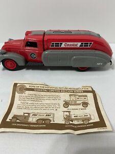ERTL Coastal #2886 1939 Dodge Airflow Tanker Bank 4th in Series Die Cast, COA