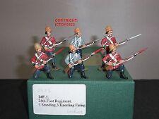 FRONTLINE FIGURES 24F5 ZULU WAR BRITISH 24TH FOOT STANDING + KNEELING FIRING SET