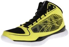 New Reebok Sublite Pro Rise Yellow and Black Men's Basketball Shoes, Size 11