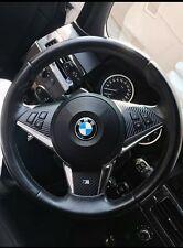 BMW Lenkradspange 5er E60 E61 M5 Lenkradblende carbon 3D alu bor Dekor