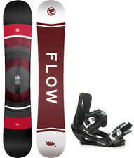2020 FLOW Vert 162cm WIDE Snowboard+Bindings NEW SHAPE!