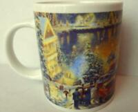 The Lights of Christmastown Coffee Mug Thomas Kinkade 2011