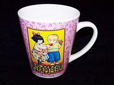 Mary Engelbreit Pink Floral Coffee / Tea Mug Sweet Heart Gift