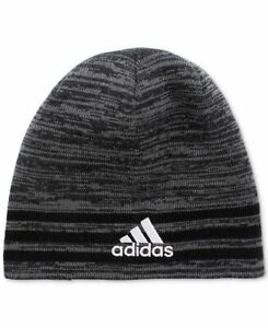 Adidas Boys Eclipse Reversible Beanie Grey Youth One Size