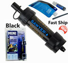 NEW Sawyer Products MINI Water Filter Filtration System Portable Black Sp105