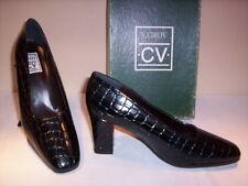 V.Cirov scarpe decoltè decolletè eleganti casual donna tacchi vernice nere 39