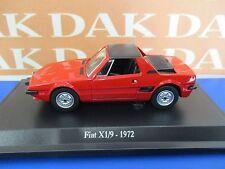 Die cast 1/43 Modellino Auto Fiat X 1/9 1972 rossa