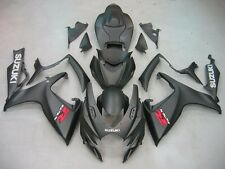 Fairing Fits For Suzuki GSXR600/750 06-07 2006 2007 Matt black ABS Aftermarket