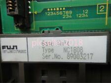 1PCS USED Fuji NC1B08 Basic Unit PLC Backplane