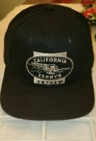 Vintage Snapback Embroidered Cap Hat California Zephyr Amtrak Trains Railroad