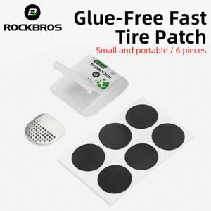 ROCKBROS No Glue Chip Bicycle Tire Repair MTB Kit Tool Tire Repair Tool