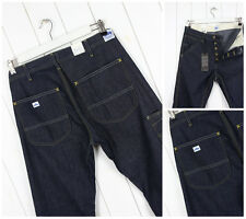 NEW LEE  DUNGAREES  WORK JEANS PANTS DRY DENIM  LOOSE STRAIGHT W31 L34