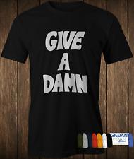 Premium Cotton Give A Damn T-shirt as worn by alex turner Arctic Monkeys & Chung