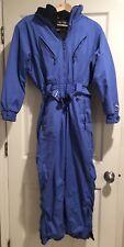 Obermeyer Vintage Women's Snowsuit Thermolite Blue Size Ladies Petite 8