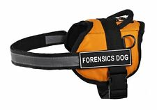 No-Pull Work Harness - Forensics Dog Large with LEASH! (Support Pawster Parents)
