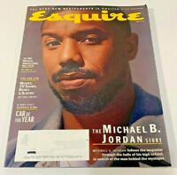 ESQUIRE MAGAZINE Winter 2020 The Michael B. Jordan Story / Car of The Year