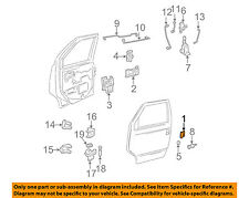GM OEM-Outside Exterior Door Handle Left 15719665