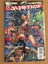 DC New 52 JUSTICE LEAGUE #3 Jim Lee NM Flash Superman Wonder Woman 1st Print