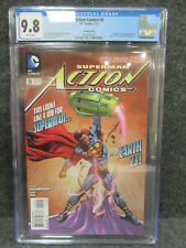 Action Comics #9 Variant cover CGC 9.8 DC Comics 1st app of Calvin Ellis