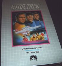 Star Trek Is There In Truth No Beauty & The Tholian Web Collector's Ed. VHS NEW