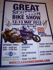 Classic Bike Show Póster firmado por Jim Moodie, Ian Simpson & Donny McLeod